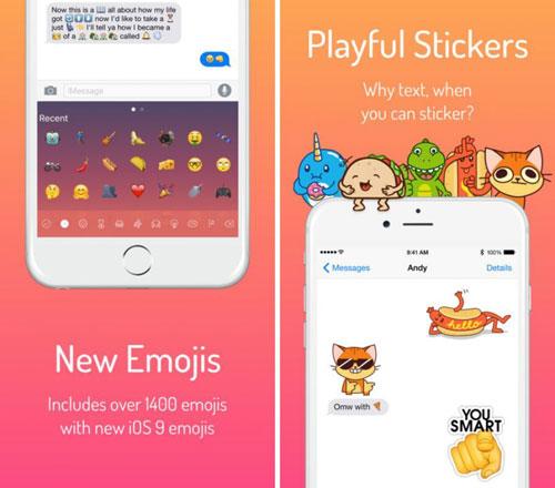 تطبيق Next Emoji للحصول على إيموجي لتطبيق اي-مسج