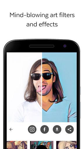 تحديث تطبيق Prisma للعمل بدون انترنت - تحويل الصور لرسومات فنية