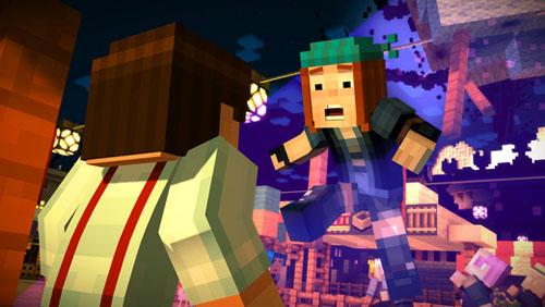 لعبة Minecraft: Story Mode الشهيرة
