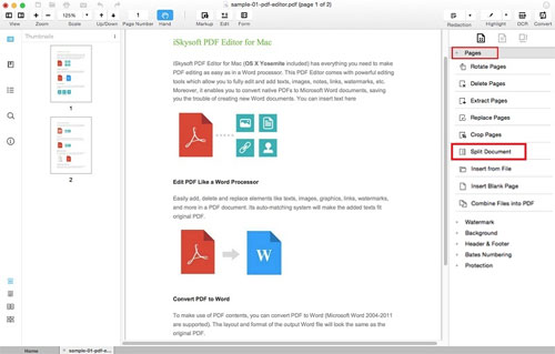 برنامج PDF Editor Pro for Mac