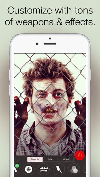 للمزاح- حول صورتك إلى زومبي مع تطبيق Zombify