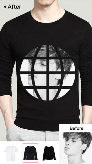 تطبيق Super T-Shirt Designer للطباعة فوق الأقمصة