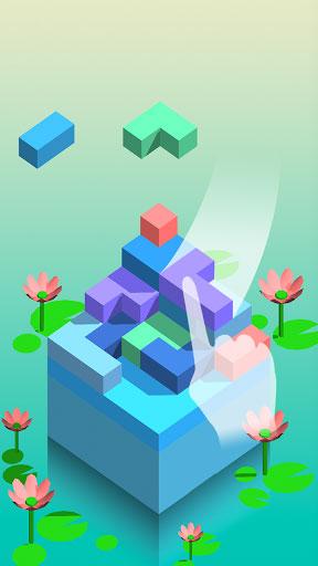 لعبة SquareStack الهندسية مميزة ومليئة بالتحدي