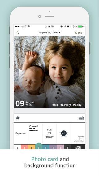 تطبيق Paletto لحفظ مذكراتك اليومية مع الصور