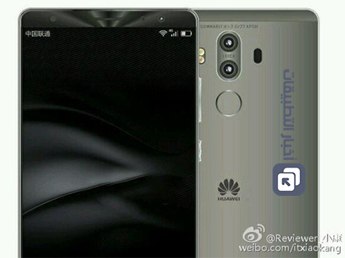 هاتف Huawei Mate 9 سيأتي بكاميرا مزدوجة و تقنية شحن فائقة السرعة !