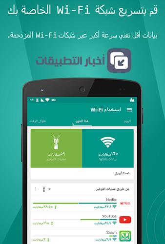 تطبيق Opera Max لتوفير استهلاك البيانات و تسريع الاتصال بالإنترنت و مزايا أخرى !