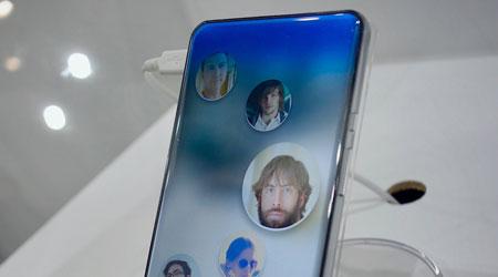 صورة شركة Sharp تكشف: شاشة منحنية من كل الأطراف – هل هو نهاية الأزرار في الهواتف ؟