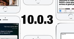 آبل تطلق تحديث iOS 10.0.3 للأيفون 7 و 7 بلس لحل مشكلة الإتصال بالشبكة الخلوية