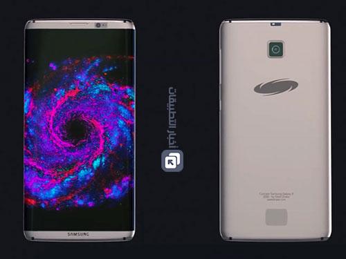 هاتف Galaxy S8 ربما يأتي بشاشة كاملة بدون حواف !