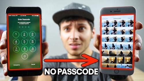 انتبهوا - ثغرة خطيرة لتجاوز قفل الأيفون والآيباد ورؤية الصور وجهات الاتصال