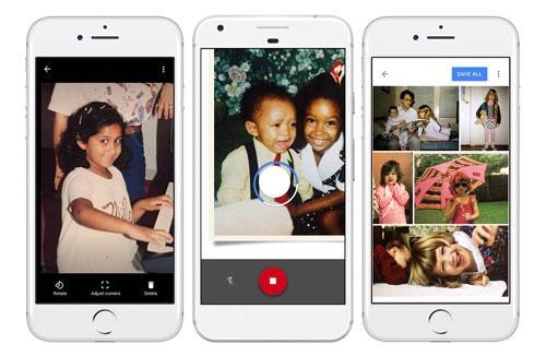 تطبيق PhotoScan لمسح الصور الحقيقية بطريقة احترافية