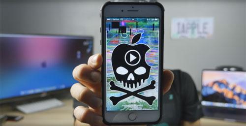 انتبهوا - رابط فيديو خبيث يقوم بإيقاف الأيفون والآيباد