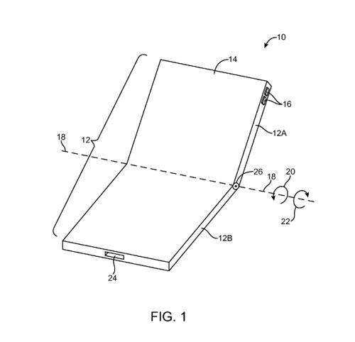 براءة اختراع: آبل ستقوم بتصنيع أيفون قابل للطي