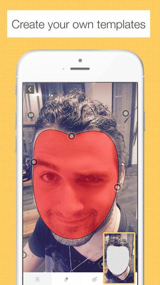 تطبيق Place My Face لتعديل الوجوه