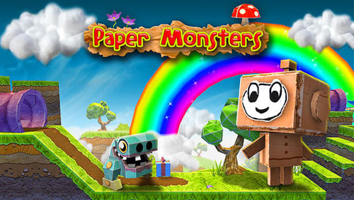 لعبة Paper Monsters الشهيرة