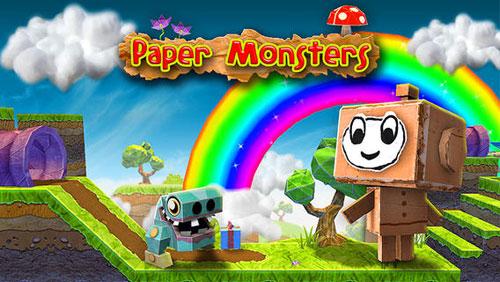 لعبة Paper Monsters الشهيرة