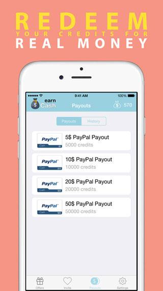 تطبيق Earn Cash لربح مبالغ مالية بأعمال يومية بسيطة