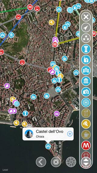 تطبيق Naples Tour لأفضل سياحة في مدينة نابولي الإيطالية