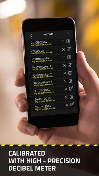تطبيق dB Decibel Meter PRO - أداة قياس قوة الصوت وتفاصيله الدقيقة