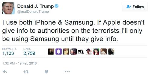 تويتة ترامب