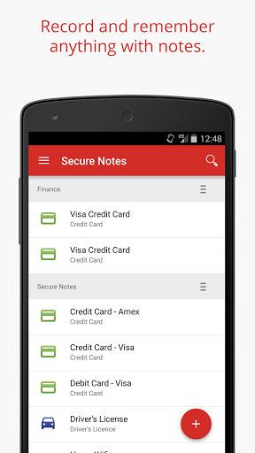 تطبيق LastPass لحفظ كلمات المرور وبطاقات الائتمان