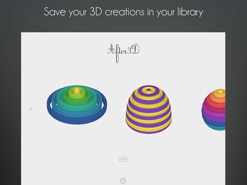 تطبيق After3D Prism لإنشاء تصاميم ثلاثية الأبعاد