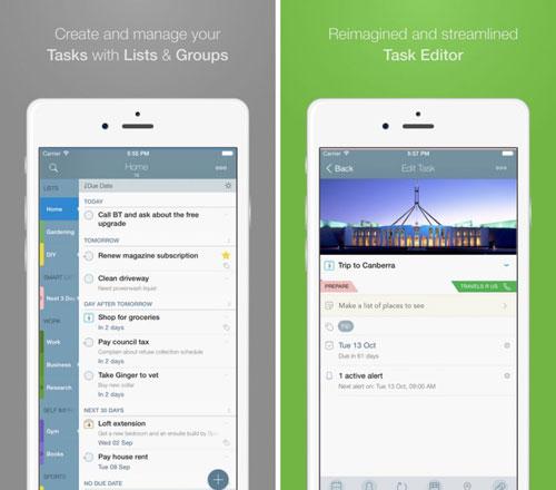 تطبيق 2Do لإدارة مهماتك اليومية