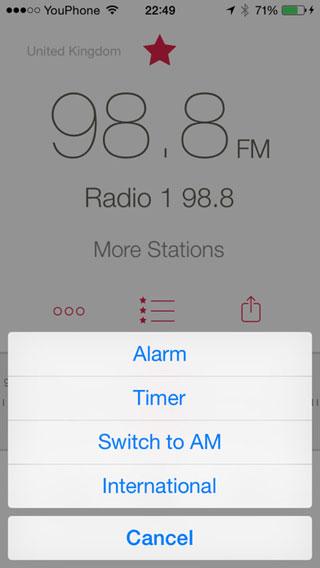 تطبيق RadioApp لتشغيل الراديو على الأيفون