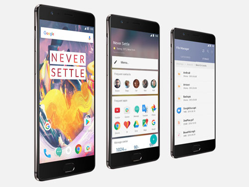 نظام التشغيل في هاتف OnePlus 3T