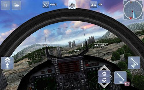 لعبة FoxOne Special Missions لحرب الطائرات