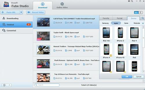 برنامج iSkysoft iTube Studio لتحميل مقاطع الفيديو من الإنترنت و تحويل الصيغ بضغطة زر !