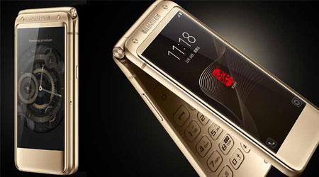 سامسونج تكشف رسميا عن هاتف Galaxy W2017 الكلاسيكي