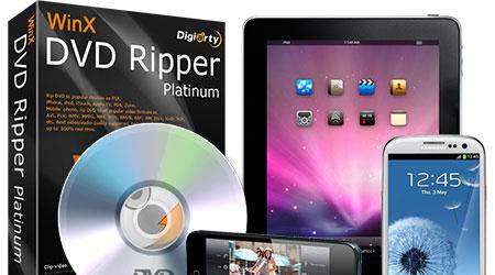 عرض خاص: برنامج WinX DVD Ripper Platinum لتحويل الفيديو ونقله إلى الهواتف واللوحيات