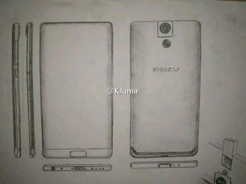 تسريب صور وتفاصيل هاتف Meizu Legent بكاميرا قابلة للدوران