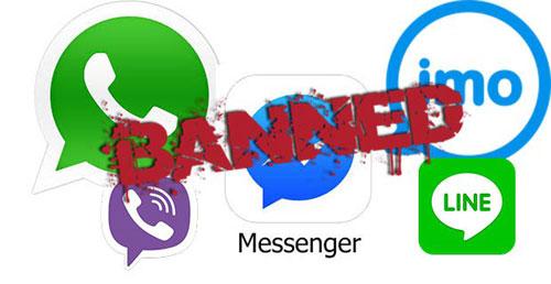 للنقاش: لماذا تواصل بعض الدول العربية منع تطبيقات المحادثة ؟