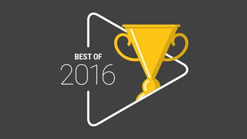 جوجل تنشر قائمة أفضل تطبيقات جوجل بلاي لعام 2016