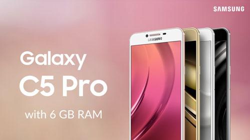 تقرير: سامسونج ستطلق Galaxy C5 Pro و C7 Pro في شهر يناير
