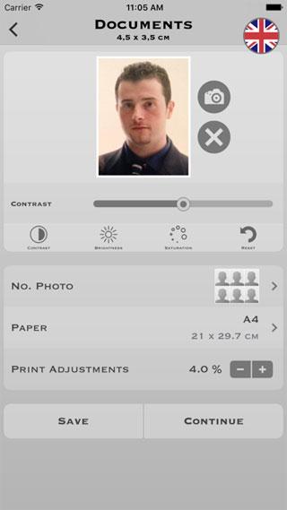تطبيق My Photo Lite لالتقاط صور مناسبة لجواز السفر مطلوب مفيد ومميز جدا مجانا