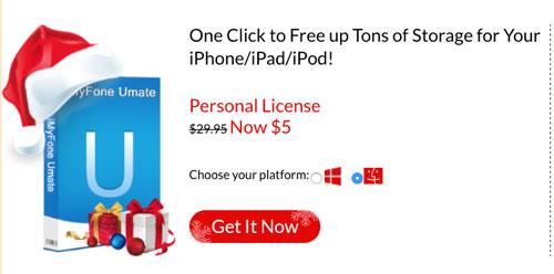 تخفيض كبير على برنامج Umate iPhone cleaner لتنظيف الأيفون والآيباد