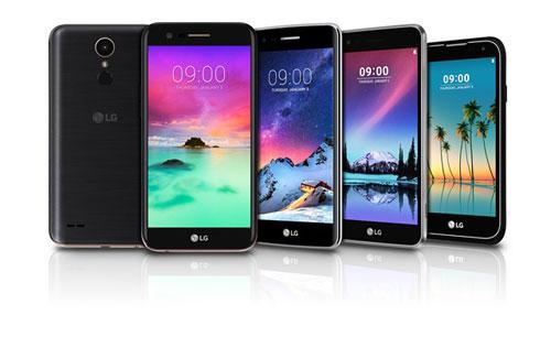 شركة LG تعلن رسميا عن سلسلة هواتف K 2017 وهاتف LG Stylus 3