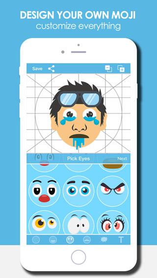 تطبيق I Am Moji لإضافة ملصقات الإيموجي مع لوحة مفاتيح