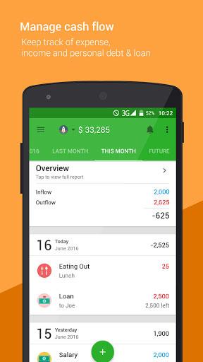 تطبيق Money Lover - Money Manager لإدارة أموالك