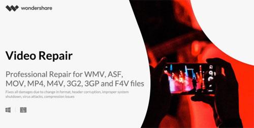 شرح طريقة إصلاح مقاطع الفيديو الفاسدة مع برنامج Wondershare Video Repair