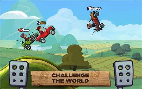 لعبة Hill Climb Racing 2 لتحدي سباق السيارات الممتع