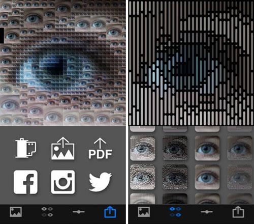 تطبيق PixelWakker لتحويل الصور إلى تحف بكسلية