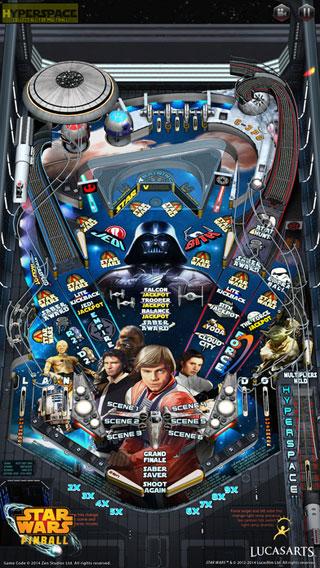 لعبة Star Wars™ Pinball 4 الكلاسيكية في قالب جديد