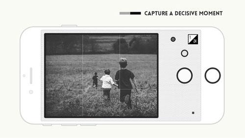 تطبيق Feelca B&W لالتقاط صور كلاسيكية