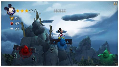 لعبة ديزني قصة ميكي ماوس Castle of Illusion