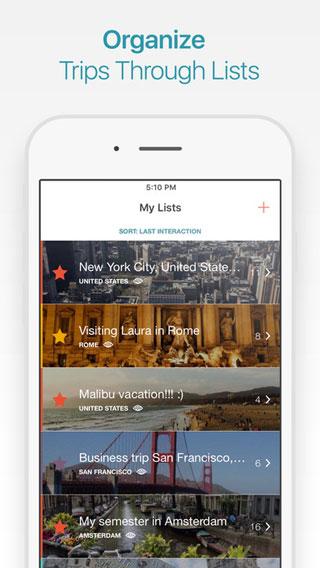 تطبيق CityMaps2Go Pro لرسم خطة سفرك مع دليل كامل