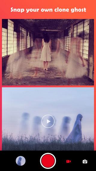 تطبيق Ghost Lens لإنشاء صور ومقاطع فيديو مليئة بالأشباح